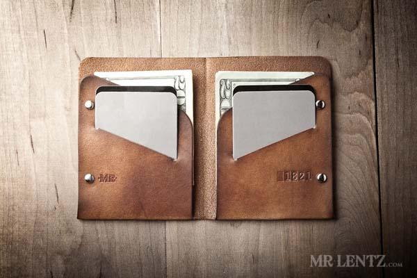 The Handmade Minimal Leather Wallet with Zero Bulk