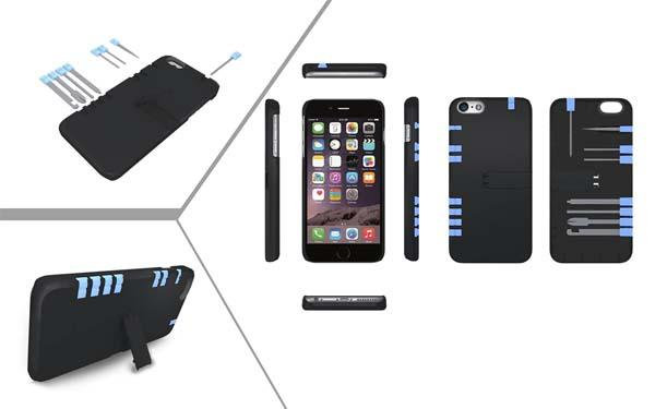 The IN1 iPhone 6 Plus and iPhone 6 Cases with Multi Tools