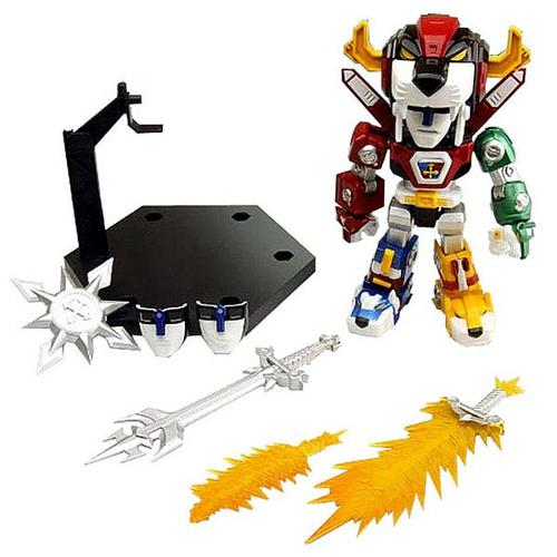 The Mini Super Deformed Voltron Action Figure