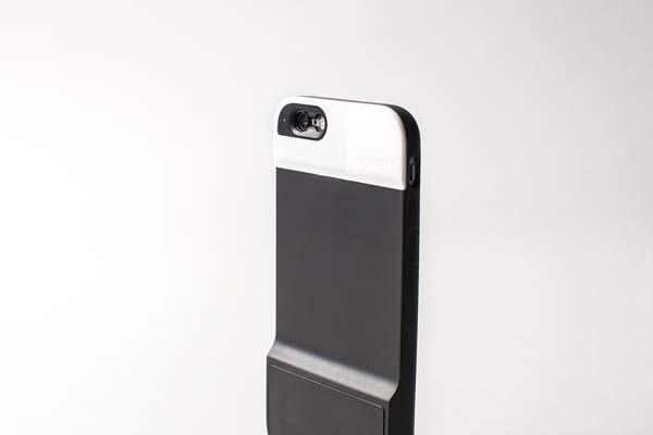 The Moment iPhone 6 Case with Multi-State Shutter Button and Lenses