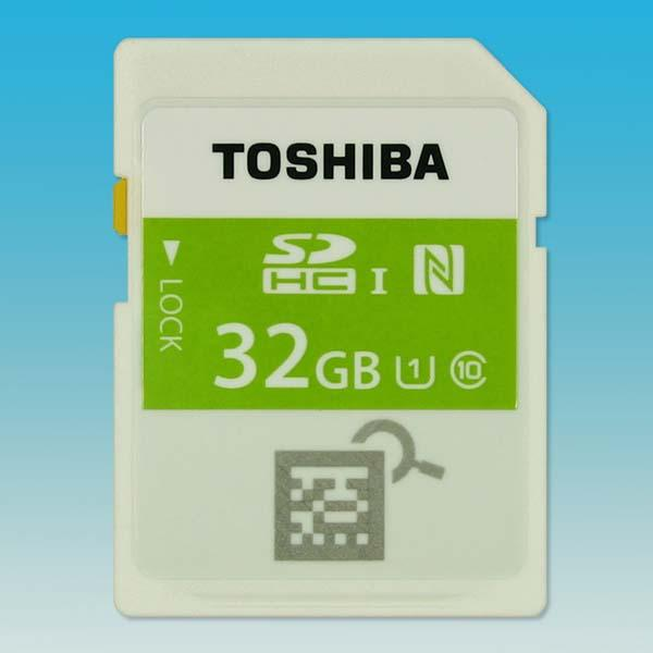 Toshiba NFC Enabled SDHC Memory Card Announced