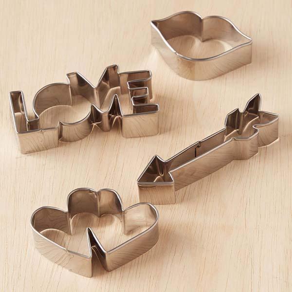 Valentine's Day Cookie Cutter Set