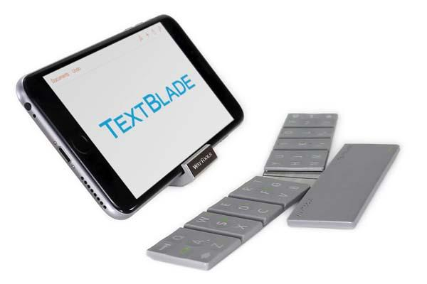 WayTools TextBlade Bluetooth Keyboard with MultiLayer Keys