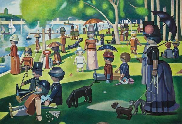 When Classic Paintings Meet Playmobil Figurines Gadgetsin
