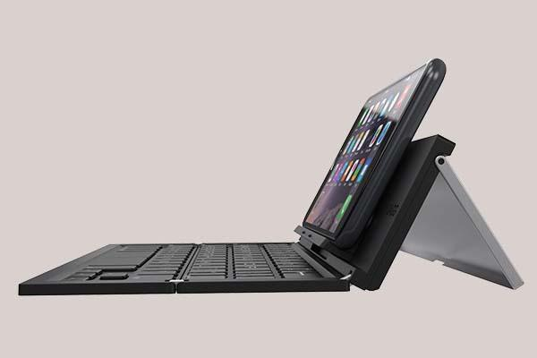 ZAGG Pocket Foldable Bluetooth Keyboard with Stand