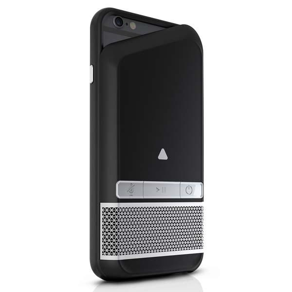ZAGG Speaker iPhone 6 Case with Backup Battery