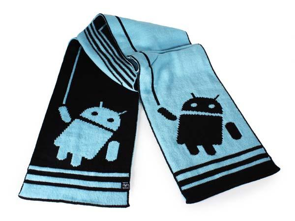 Android Hangout and Big Bot Scarfs