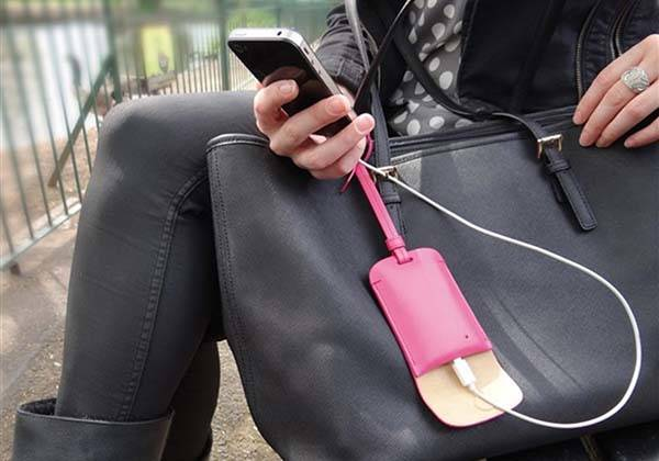 Bag Tag Portable Charger Fits Your Fasionable Bag