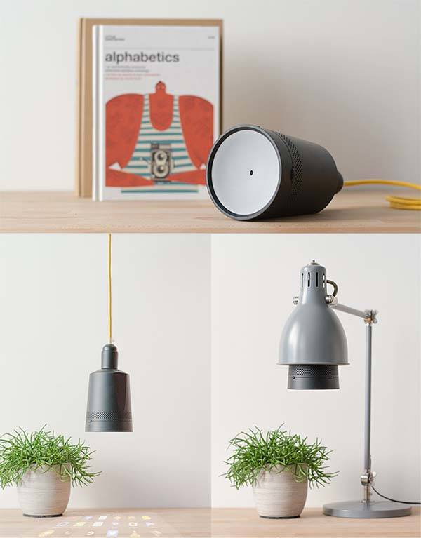 Beam Smart Projector Fits in Any Light Socket