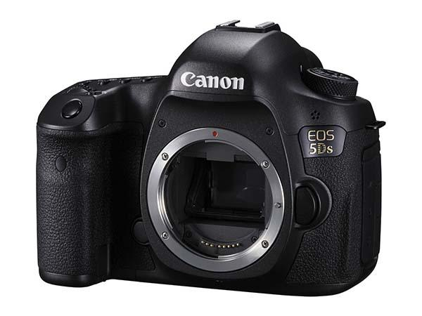 Canon EOS 5DS and 5DS R DSLR Cameras Announced