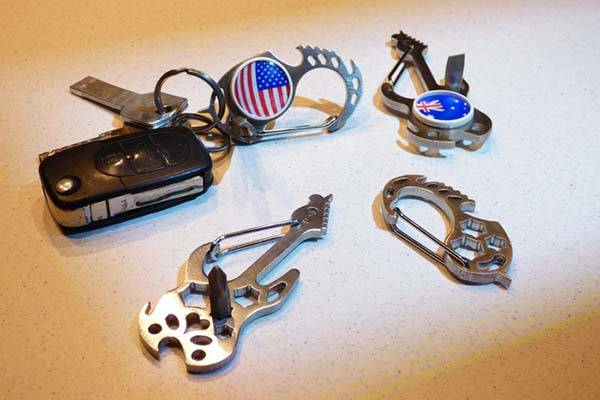 Carabinsi NFC Enabled Multi-Tool with Carabiner