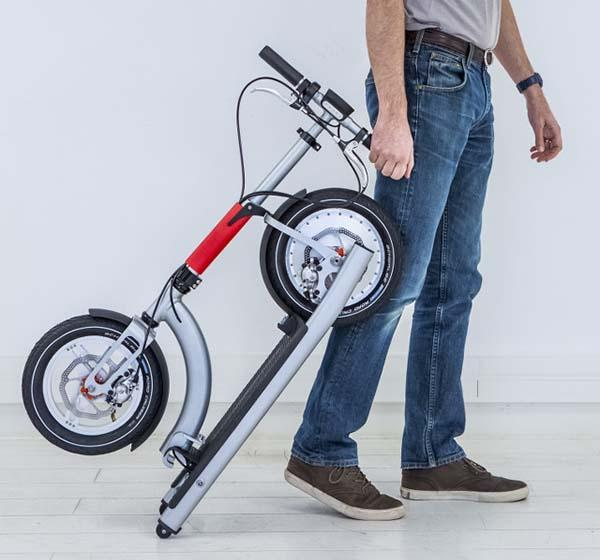 ElectricMood Lightweight Foldable Urban E-Scooter