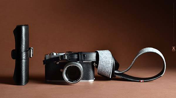 Hard Graft Atelier Pop Up Leather Leica Camera Bag