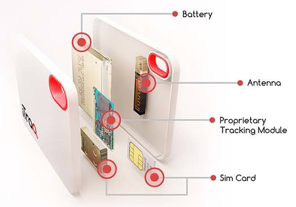 iTraq Cellular Wireless Tracking Device