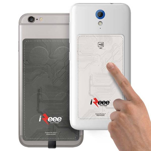 iZee Touch Charger Charges Your Smartphone with Touch of Your Fingers