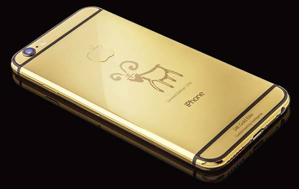 Luxury Gold iPhone 6 Elite Limited Edtion for Year of the Goat