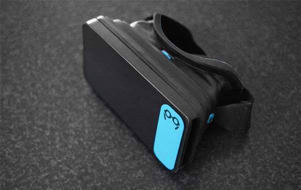 Moggles Pocket VR Glasses with Motion Hand Controller