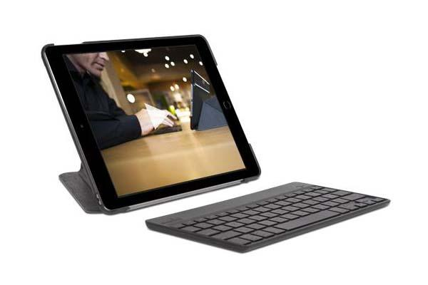 Moshi VersaKeyboard iPad Air 2 Case with Detachable Bluetooth Keyboard