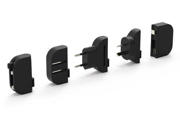 Mu System An Ultra Thin International USB Chager