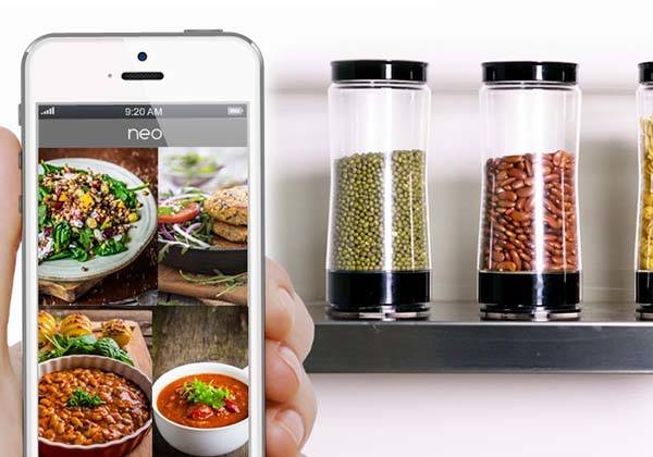 Neo The World's First Smart Jar