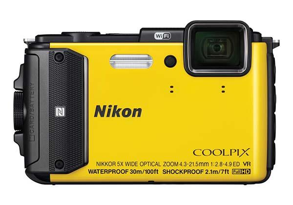 Nikon COOLPIX AW130 Waterproof Camera with WiFi Announced