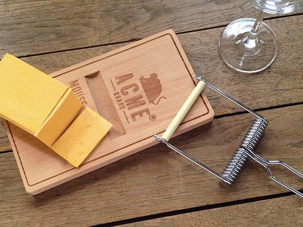 Oh, Snap! Cheese Board with Cheese Slicer