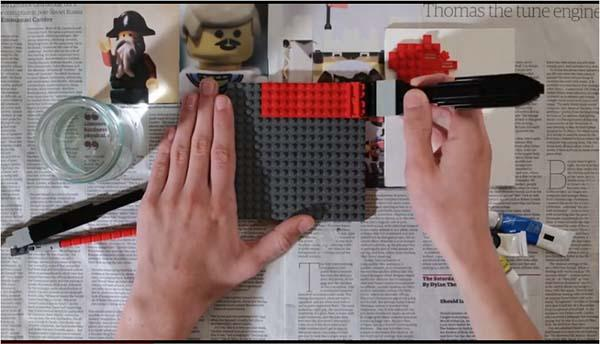 Paint Using LEGO Bricks
