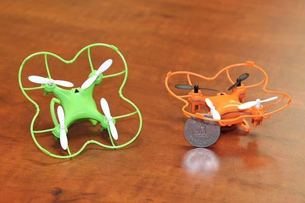 Redesigned CX-10 Series Nano Drones with Improved Durability and Stability
