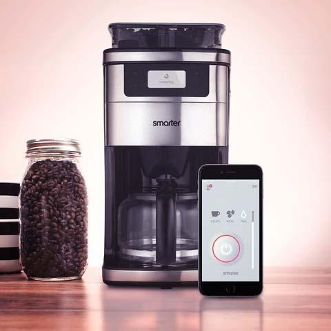 Smarter WiFi-Enabled Smart Coffee Machine