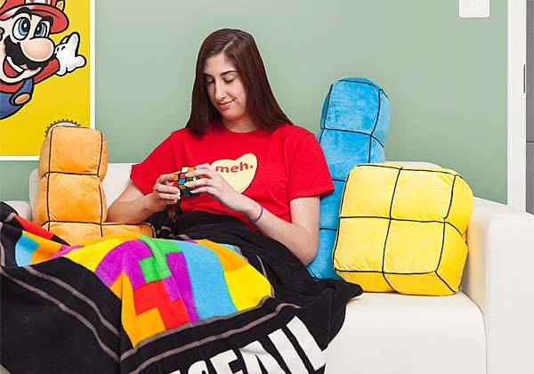 Tetris 3D Cushion Set