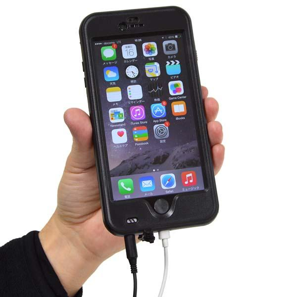 Thanko Waterproof iPhone 6 Plus and iPhone 6 Cases
