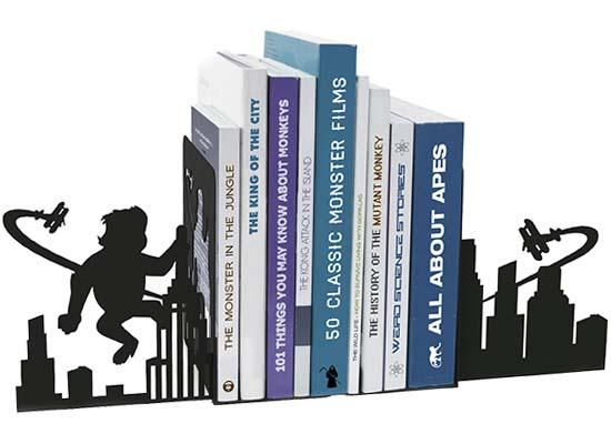 The Ape Attack Bookends