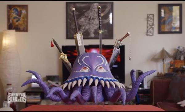 The Awesome Final Fantasy Kitchen Knives by Super Fan Builds