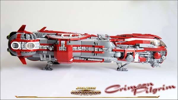 The Awesome Star Wars Old Republic Crimson Pilgrim Built