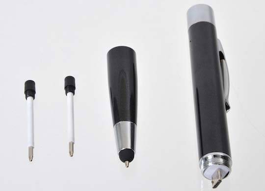 The Ballpoint Pen with Stylus and Portable Charger