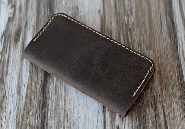 The Handmade Custimzable Leather iPhone 6 Plus and iPhone 6 Cases