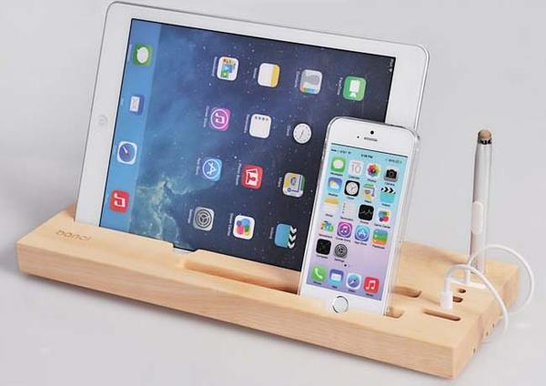 The Handmade Docking Station For Your Phone And Tablet