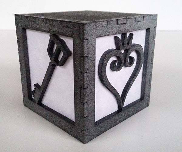 The Handmade Kingdom Hearts Light Box