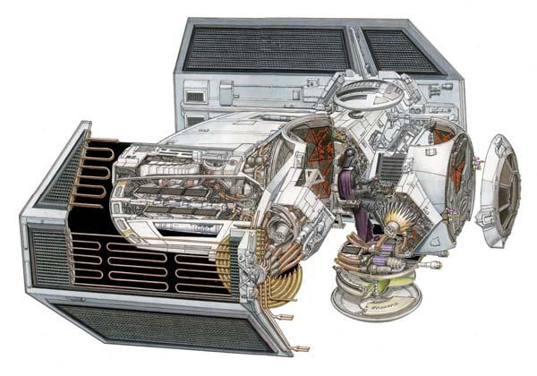 The Illustrations Shows You Detailed Star Wars Vehicle