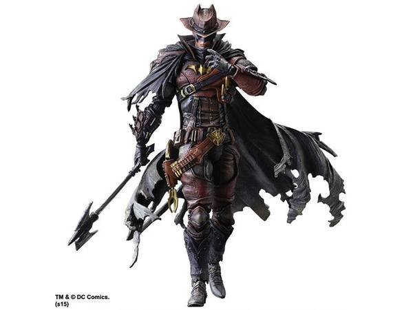 The Play Arts Kai Batman Action Figure Came from Wild West