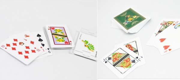 The Playing Cards Inspired by Nintendo Games