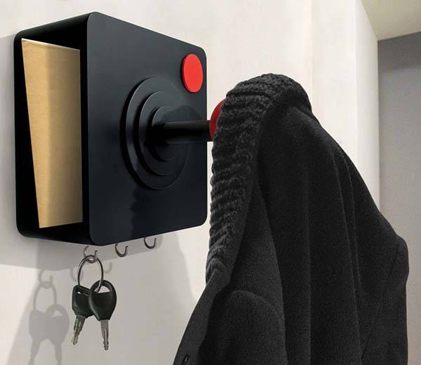 The Retro Gaming Joystick Coat Hook