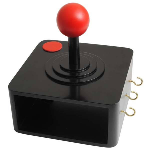 The Retro Gaming Joystick Coat Hook