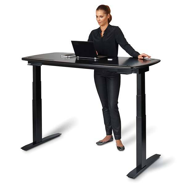 "The Stir Kinetic Desk M1 with Bluetooth, WiFi and 5"" Touchscreen"