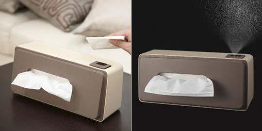 The Wet Tissue Box with Moisture Dispenser