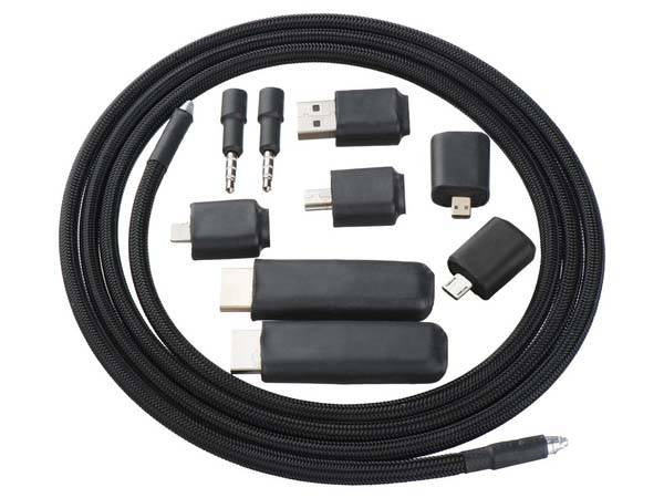TOB All-In-One Cable with Interchangeable Connectors