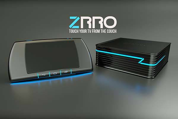 ZRRO Android Game Console with a Touch Controller