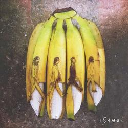 The Amazing Banana Themed Art Prints