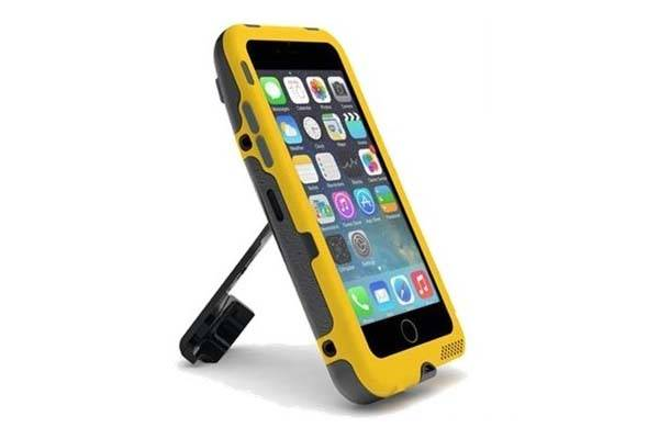 Ampware Crankcase Iphone 6 Case With Integrated Hand Crank