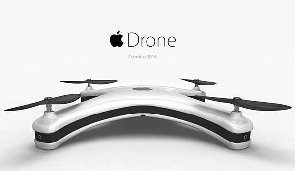 Apple Drone is a Concept Quadcopter with Four iSight Cameras
